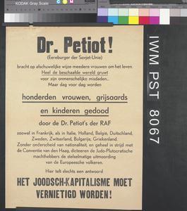 Dr Petiot!