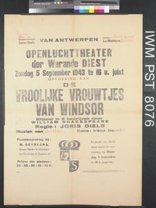 Openluchttheater der Warande Diest