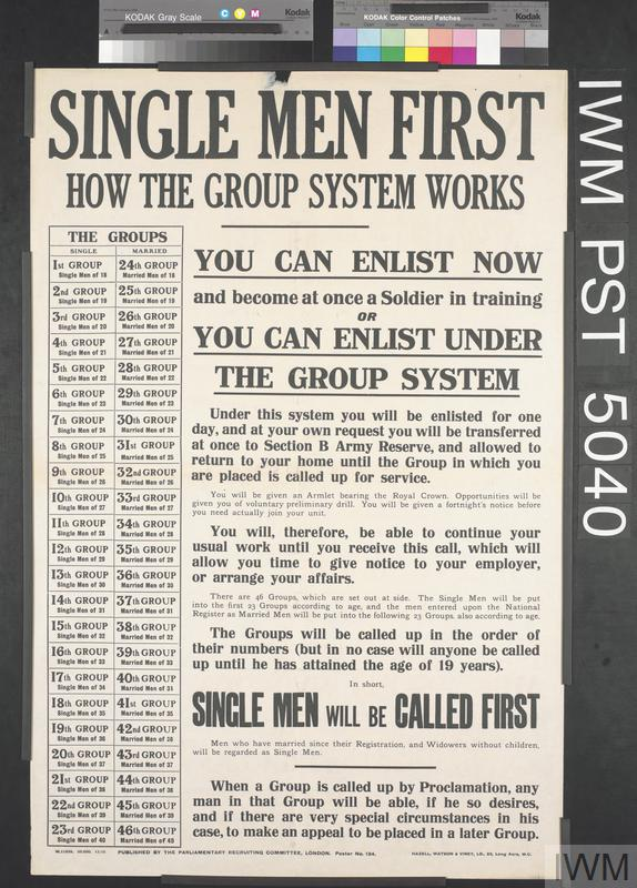Single Men First