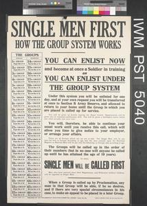 Single Men First