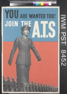You are Wanted Too! Join the ATS