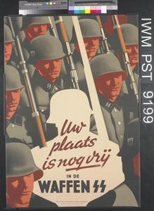 Uw Plaats is Nog Vrij in de Waffen SS [Your Place is Still Vacant in the Waffen SS]