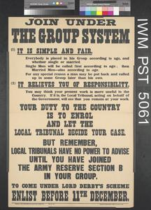 Join Under the Group System