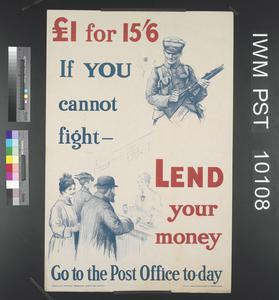 If You Cannot Fight - Lend Your Money