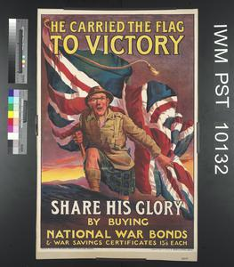 He Carried the Flag to Victory