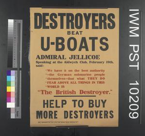 Destroyers Beat U-Boats