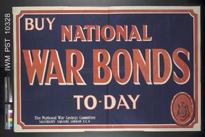 Buy National War Bonds Today
