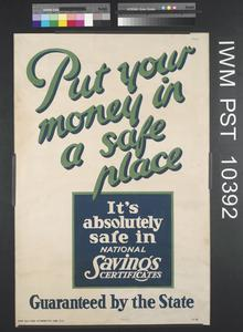 Put Your Money in a Safe Place