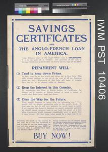 Savings Certificates