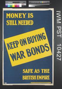 Keep on Buying War Bonds