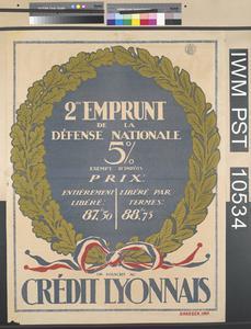 Deuxième Emprunt de la Défense Nationale [Second National Defence Loan]