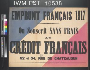 Emprunt Français 1917 [French Loan 1917]