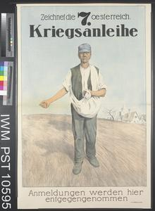 Zeichnet die Siebente Oesterreichische Kriegsanleihe [Subscribe to the Seventh Austrian War Loan]