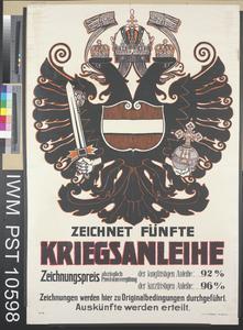 Zeichnet Fünfte Kriegsanleihe [Subscribe to the Fifth War Loan]