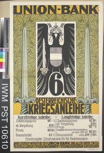 Union-Bank Sechste Oesterreichische Kriegsanleihe [Union-Bank Sixth Austrian War Loan]