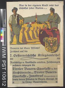 Nur in der Eigenen Kraft Ruht das Schicksal Jeder Nation [The Destiny of Each Nation Rests only in its own Strength]