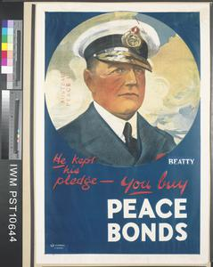 He Kept his Pledge - You Buy Peace Bonds