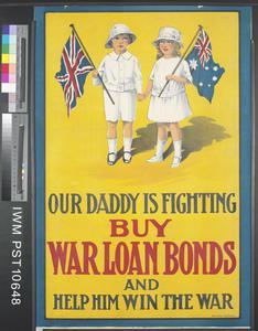 Our Daddy is Fighting - Buy War Loan Bonds
