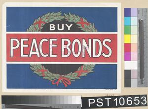Buy Peace Bonds