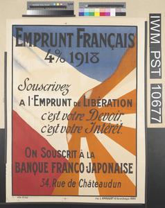 Emprunt Français Quatre pour cent 1918 [Four Percent French Loan 1918]