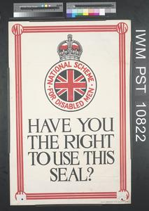 Have you the Right to Use this Seal?