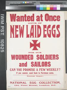 Wanted at Once - Gifts of New Laid Eggs