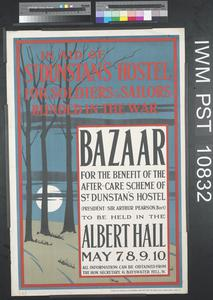 Bazaar for the Benefit of the After-Care Scheme