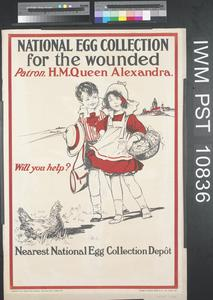 National Egg Collection for the Wounded