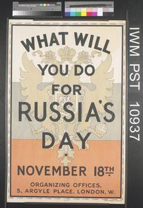 What will You do for Russia's Day