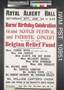 Burns' Birthday Celebration