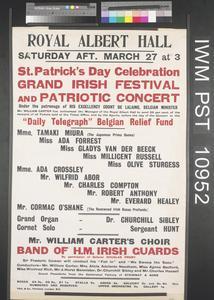 Grand Irish Festival and Patriotic Concert