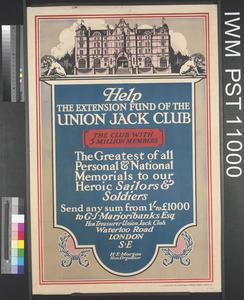 Help the Extension Fund of the Union Jack Club