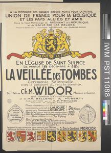 La Veillée des Tombes [Vigil of the Tombs]