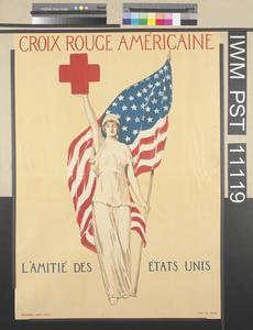 Croix Rouge Américaine - L'Amitié des États Unis [American Red Cross - The Friendship of the United States]