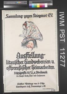 Ausstellung Litauischer Handwebereien und Ostpreussischer Heimarbeiten [Exhibition of Lithuanian Hand Weaving and East Prussian Handiwork]