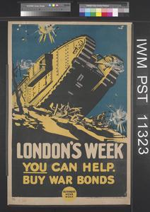 London's Week - You Can Help - Buy War Bonds