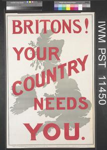 Britons! Your Country Needs You