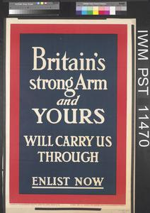 Britain's Strong Arm and Yours Will Carry Us Through