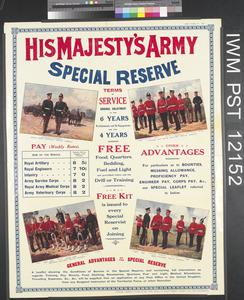 His Majesty's Army Special Reserve