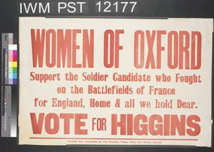 Women of Oxford