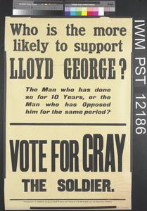 Who is the More Likely to Support Lloyd George?