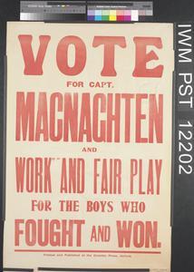 Vote for Captain MacNaghten