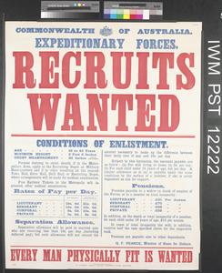 Recruits Wanted