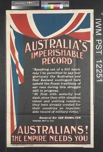 Australia's Imperishable Record