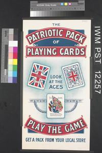 The Patriotic Pack of Playing Cards - Play the Game