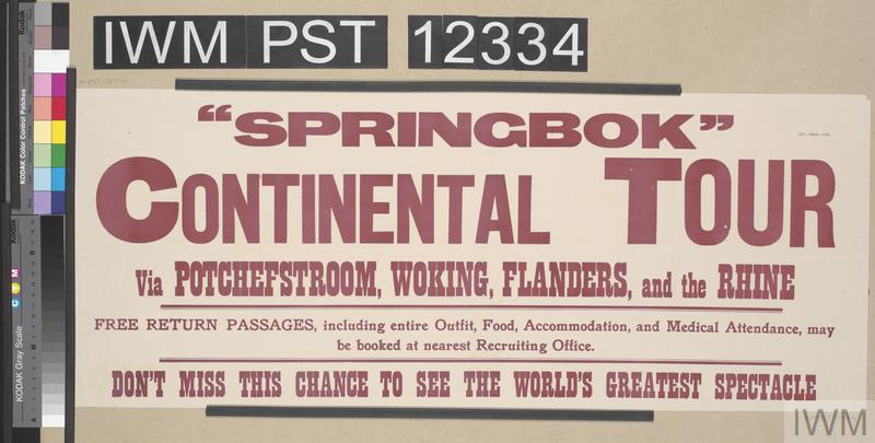 'Springbok' Continental Tour