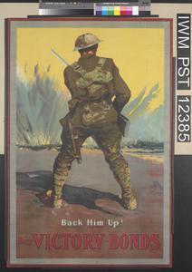 Back Him Up! - Buy Victory Bonds