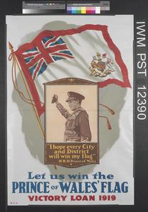 Let us Win the Prince of Wales Flag