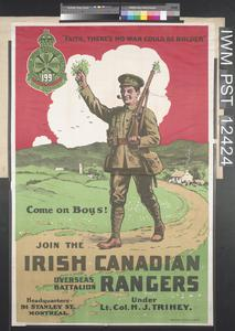 Join the Irish Canadian Rangers