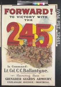 Forward! To Victory with the 245 Battalion Canadian Grenadier Guards